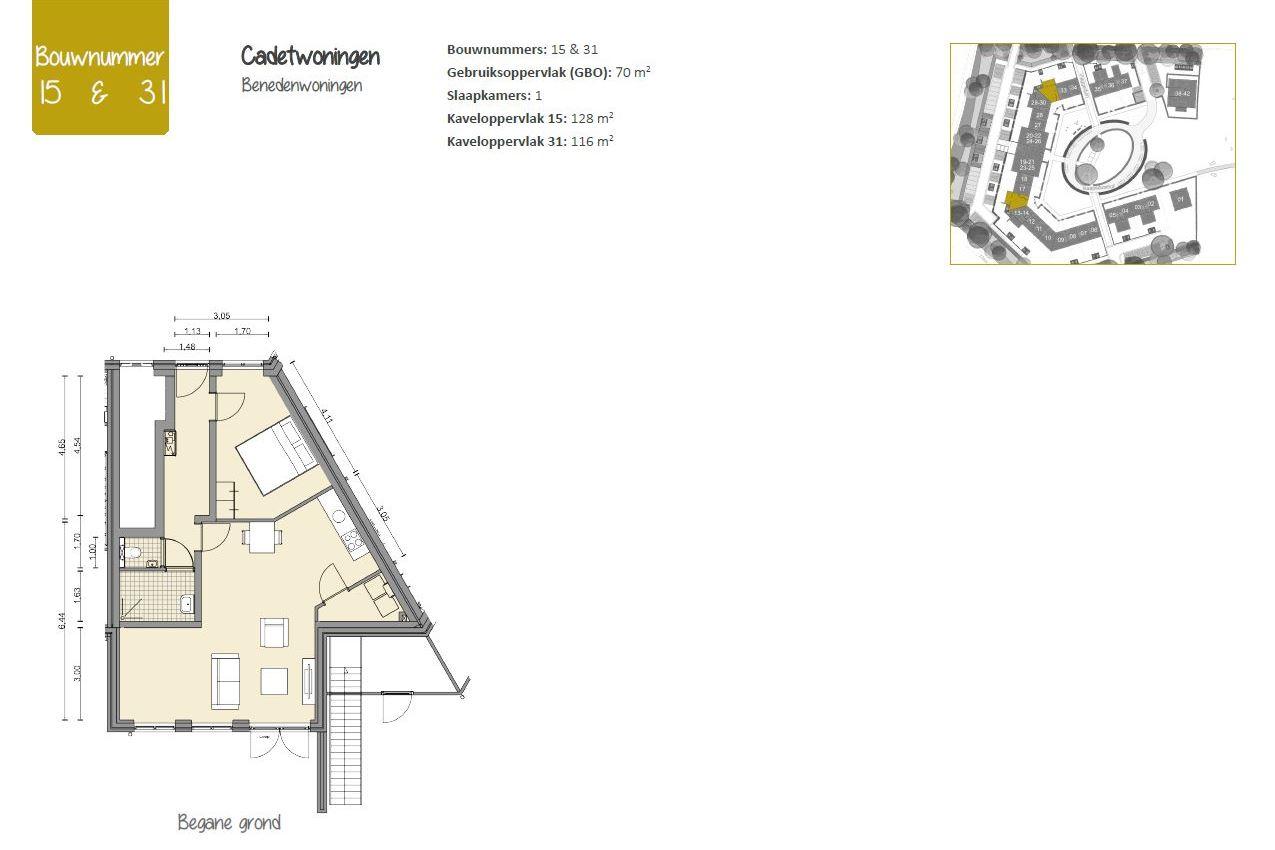 Bekijk foto 2 van Cadetwoningen (Bouwnr. 15)