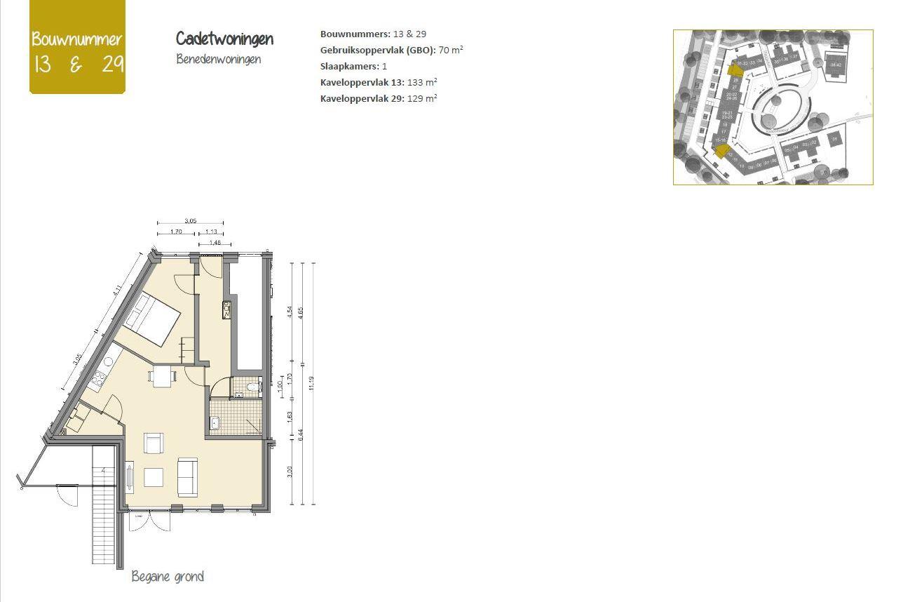 Bekijk foto 2 van Cadetwoningen (Bouwnr. 13)
