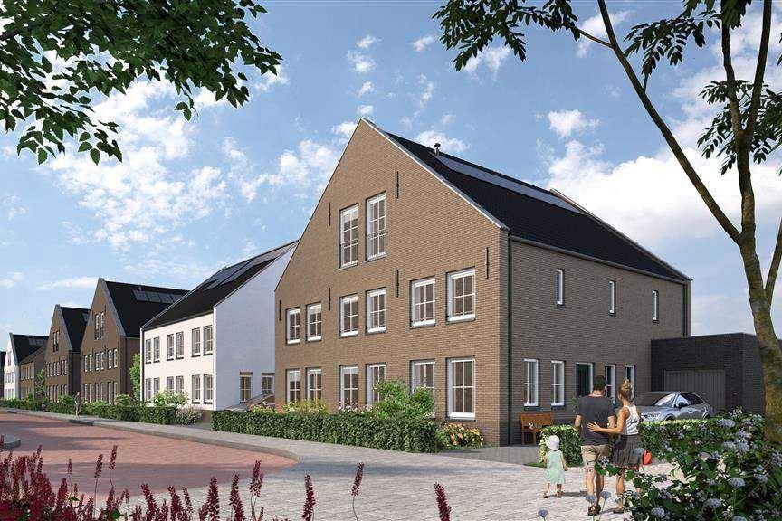 Bekijk foto 2 van Riederwerf Nieuwe Maas- en dijkwoningen (Bouwnr. 100)