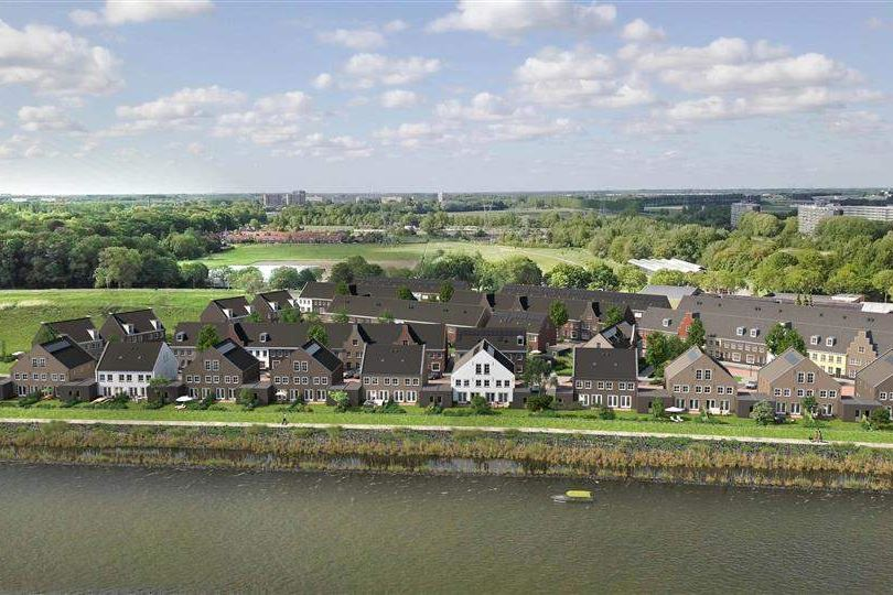 Bekijk foto 3 van Riederwerf Nieuwe Maas- en dijkwoningen (Bouwnr. 108)