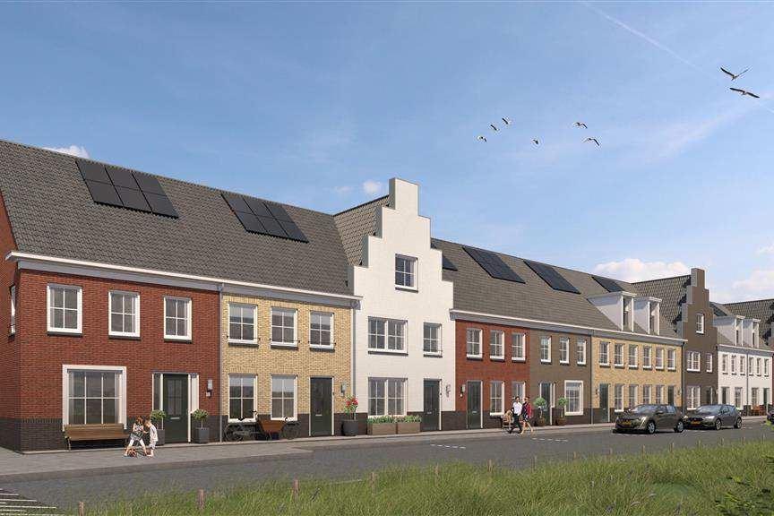 Bekijk foto 1 van Riederwerf Nieuwe Maas- en dijkwoningen (Bouwnr. 129)