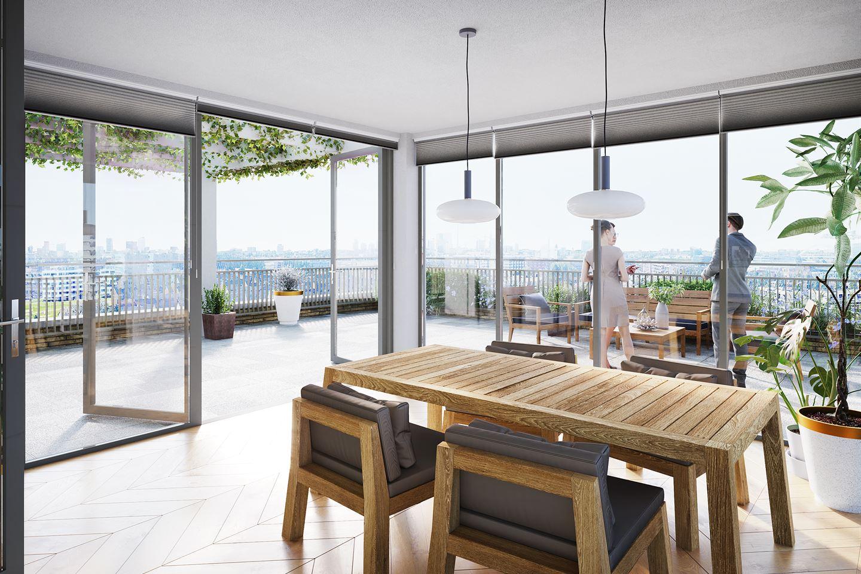 Bekijk foto 2 van Penthouse met serre bnr. 88