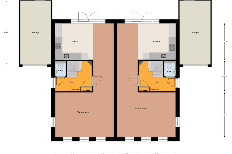 Bekijk foto 4 van Twee-onder-een-kapwoning - Hazelaarwal (Bouwnr. 11)