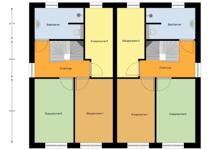 Bekijk foto 5 van Twee-onder-een-kapwoning - Hazelaarwal (Bouwnr. 11)