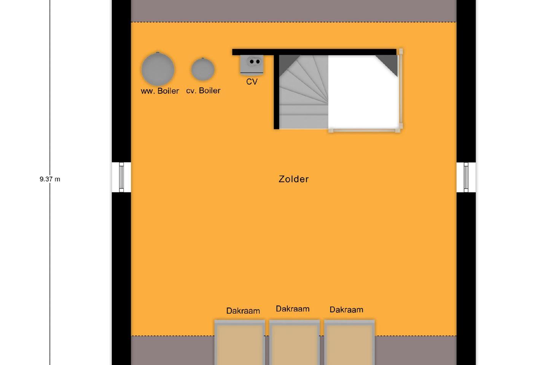 Bekijk foto 5 van Vrijstaande woning dwarskap - Hazelaarwal (Bouwnr. 17)