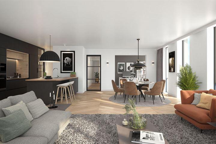 206 | Appartement | type D04 | Walkwartier (Bouwnr. 206)