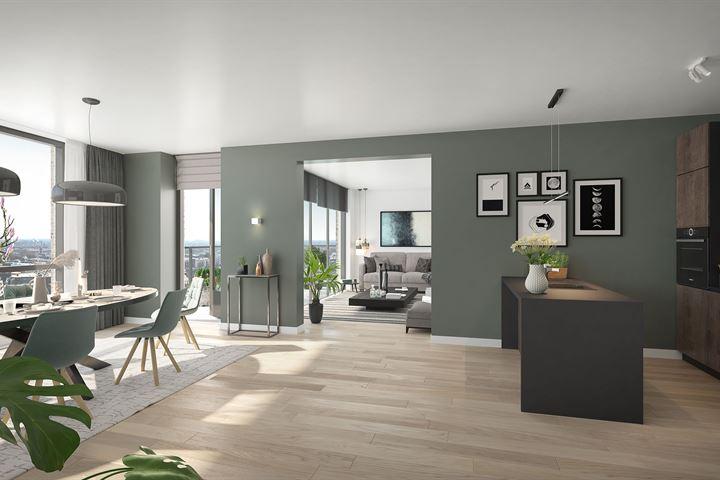 259 | Appartement | type D08 | Walkwartier (Bouwnr. 259)