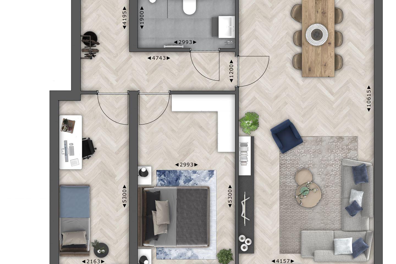 Bekijk foto 5 van Tender (98 m²) (Bouwnr. 22)