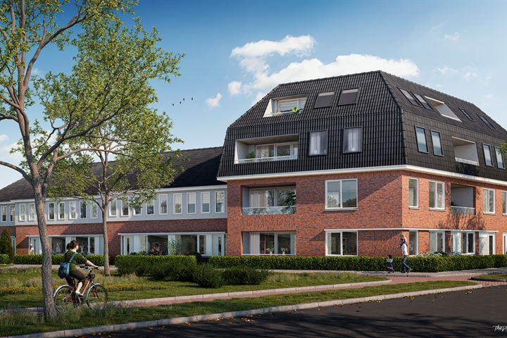 Appartement op 1e of 2 verdieping van 75 m2 (Bouwnr. 12)