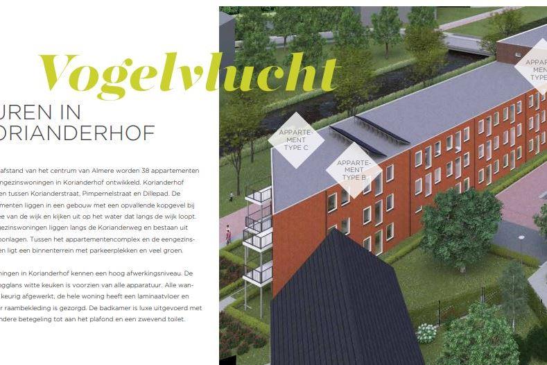 Bekijk foto 2 van Korianderhof appartement