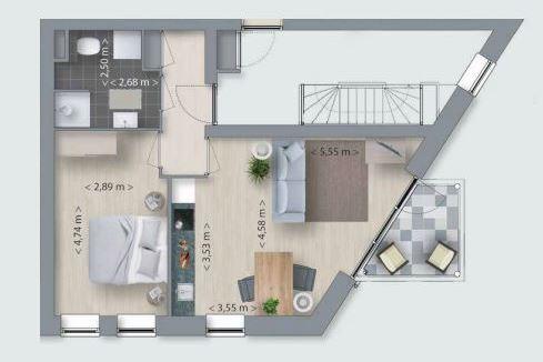 Bekijk foto 5 van Korianderhof appartement