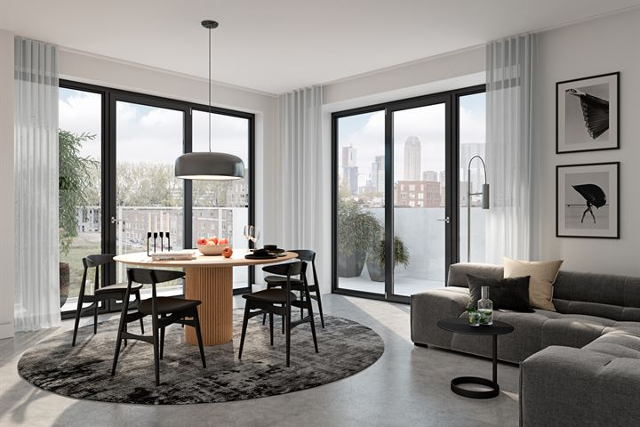 Binnentuin appartement (Bouwnr. 19)