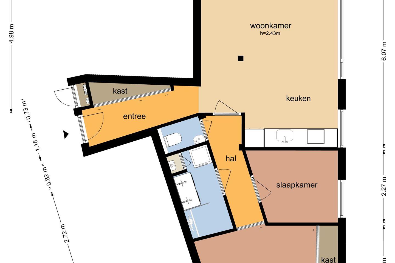 Bekijk foto 4 van Herengracht 127 D