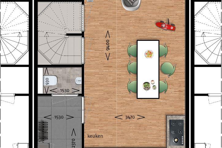Bekijk foto 3 van Jazzboog 3, Ritornello / tussenwoning sit.  (Bouwnr. 72)