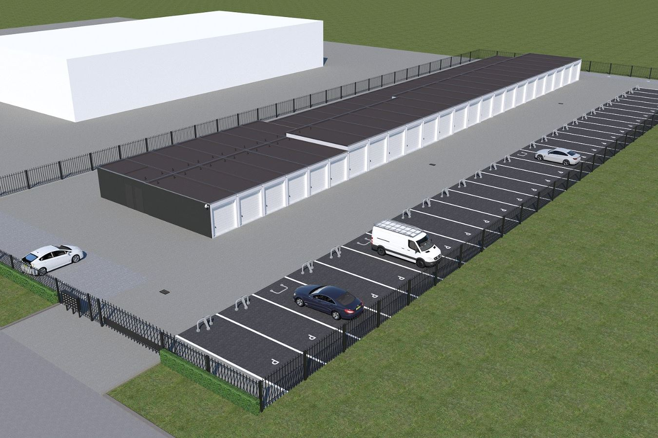 Bekijk foto 1 van Bedrijfsunits/parkeerplaatsen Glasblazer