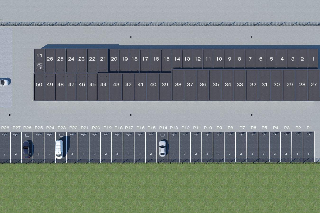 Bekijk foto 2 van Bedrijfsunits/parkeerplaatsen Glasblazer