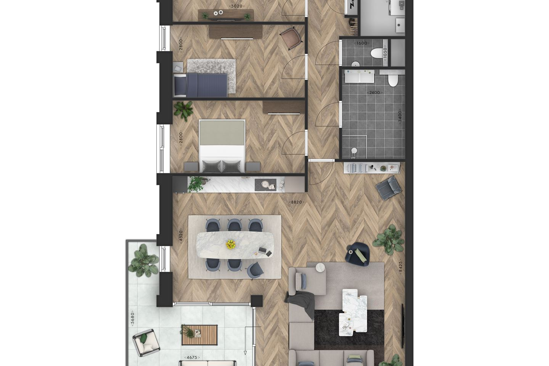Bekijk foto 5 van Appartement (Bouwnr. 3)