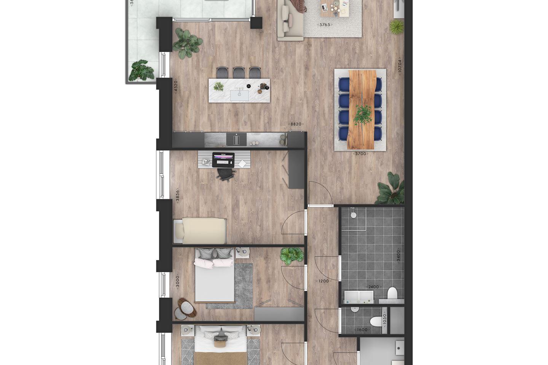 Bekijk foto 5 van Appartement (Bouwnr. 6)