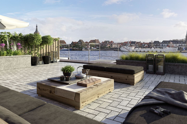 Bekijk foto 4 van Hanzesteden Watervilla met bedrijfsruimte
