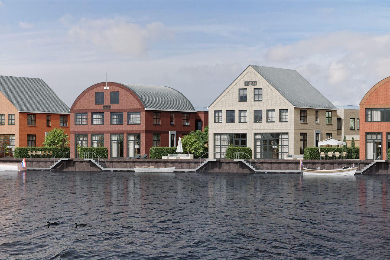 Bekijk foto 1 van Hanzesteden Watervilla met bedrijfsruimte