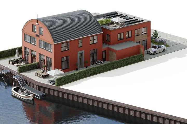 Watervilla met bedrijfsruimte (Bouwnr. 2)