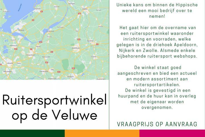 Ruitersportzaak op de Veluwe, Staphorst