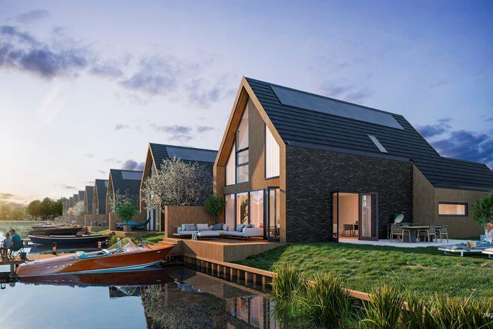 Wonen aan het Woldmeer | 11 vrijstaande villa's met eigen aanlegsteiger