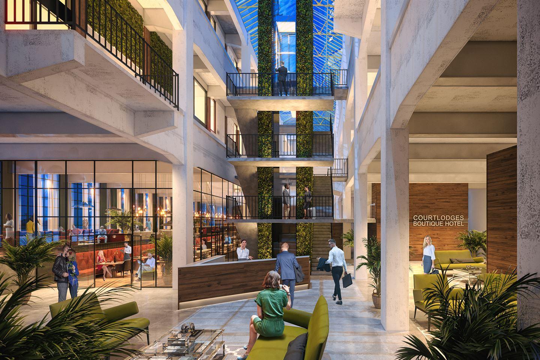 Bekijk foto 2 van Hotel De Timmerfabriek - K.123 (2p)