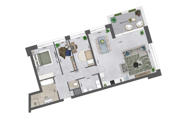 Bekijk foto 4 van Zeeuwse Morgen/ Appartement A4 bwnr. 19