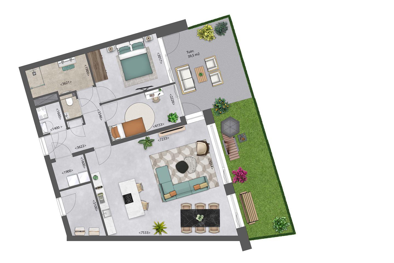 Bekijk foto 4 van Zeeuwse Morgen/ Appartement A3 bwnr. 13