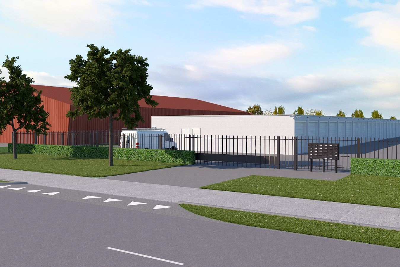 Bekijk foto 1 van Bedrijfsunits Phileas Foggstraat